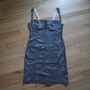 Cheap Glittery Silver Dress Free w/ any purchase!